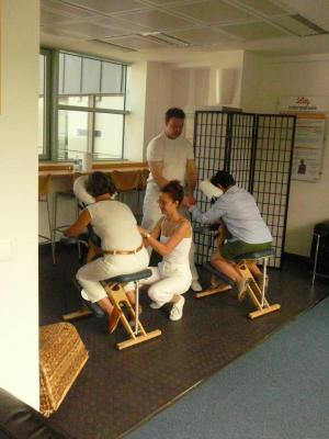 Team building, Massage en entreprise - 4