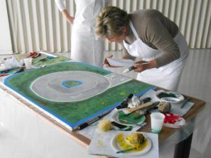 Team building, Création d'une fresque - 5