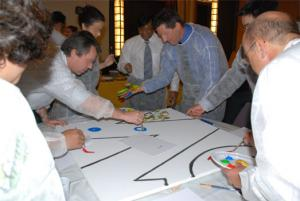 Team building, Dessin/ Fresque - 2