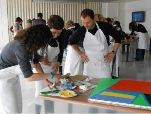 Team building, Création d'une fresque - 4