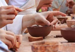 Team building, Sculpture,Modelage,Totem - 2