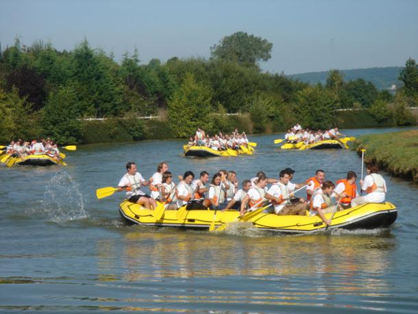 Team building, Challenge raft - 5