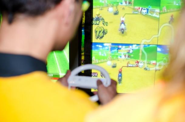 Team building, Courses de voiture virtuelles - 2