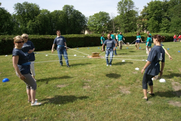 Team building, Challenge Rugby - 5