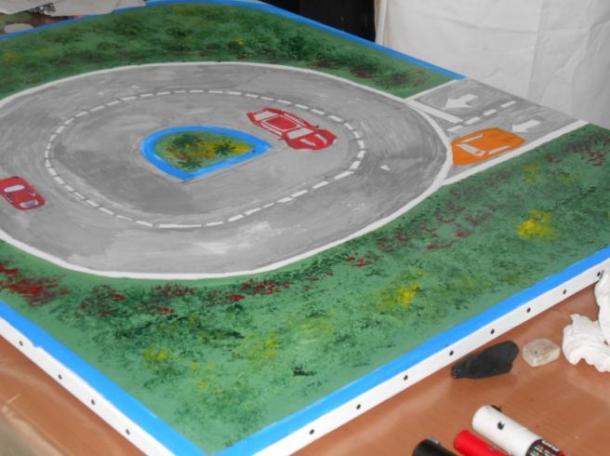 Team building, Création d'une fresque - 6