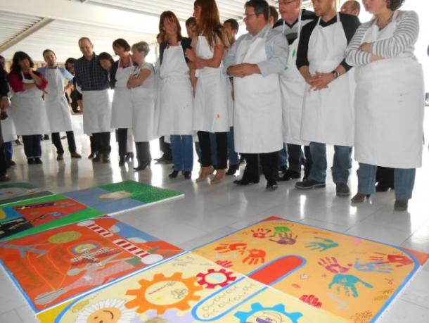 Team building, Création d'une fresque - 7